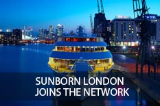SUNBORN LONDON JOINS THE NETWORK