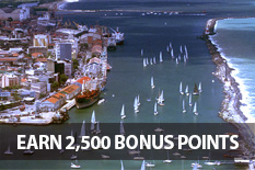 EARN 2,500 BONUS POINTS FOR EVERY STAY AT LUZEIROS HOTELS!