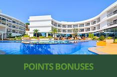 POINTS BONUSES AT PARK REGIS GOA AND LEISURE INN GRAND CHANAKYA