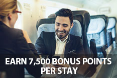 EARN 7,500 BONUS POINTS PER STAY