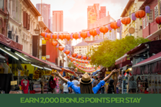 Earn 2,000 BONUS POINTS PER STAY