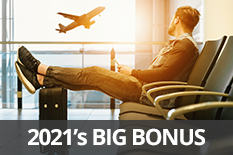 2021's BIG BONUS: Earn 3,500 BONUS POINTS PER STAY
