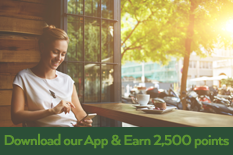 Earn 2,500 Points for Installing the Stay Well Rewards Mobile App