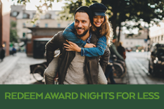 REDEEM AWARD NIGHTS FOR LESS