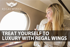 TREAT YOURSELF TO LUXURY WITH REGAL WINGS