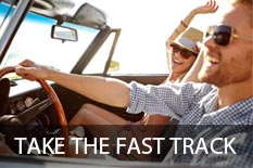TAKE THE FAST TRACK