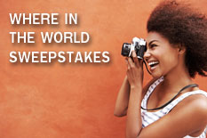 WHERE IN THE WORLD SWEEPSTAKES