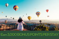 Earn 3,000 BONUS POINTS PER STAY